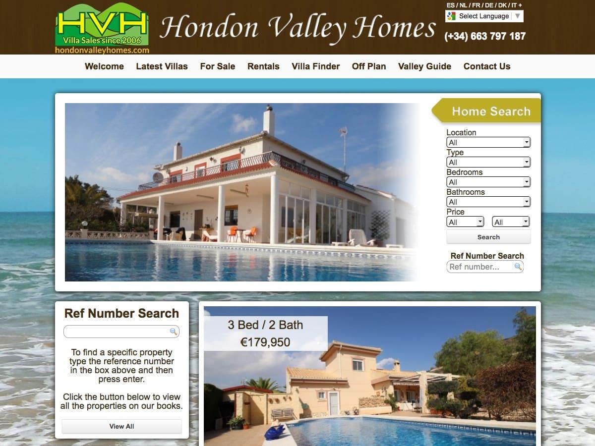 Hondon Valley Homes